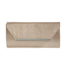 Glint Metallic Envelope Clutch, metallic clutch, golden clutch, silver clutch