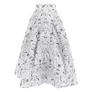 Maticevski Spider Orchid Full Skirt, floral full skirt, lace full skirt, formal skirt
