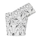 Maticevski Spider Orchid Lace Bodice, off shoulder bodice, off shoulder fitted top, off shoulder crop top