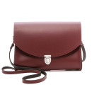 Cambridge Satchel Large Push Lock Bag, red bag, burgundy bag, oxblood bag, wine bag