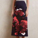 HD in Paris Bronzefield Maxi Skirt, floral print skirt, statement print skirt, floral print a-line skirt, floral print midi skirt