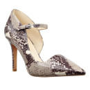 Nine West Jennelle Pump, snake print pumps, grey pumps, grey heels, snake print heels