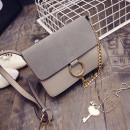 Secret Garden Shoulder Flap Bag, grey shoulder bag, grey bag, grey handbag
