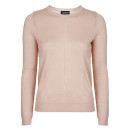 Topshop Fine Knit Top, pink sweater, pale pink sweater, blush sweater