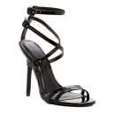 Legend Footwear Adele Heel, black heeled sandals, black heels, black strappy heels, black strappy heeled sandals