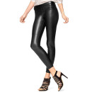 Hue 'Leatherette Skimmer' Leggings, black leather leggings, black leather pants, black leather skinny pants