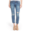 Generra Distressed Crop Flare Jeans, distressed crop jeans, distressed ankle jeans