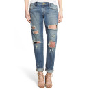 Articles of Society 'Janis' Boyfriend Jeans, boyfriend jeans, distressed boyfriend jeans, mid wash boyfriend jeans, mid wash distressed boyfriend jeans