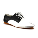 Shoes of Prey Cap Toe Oxford, black and white oxfords, black and white flat shoes, black and white shoes