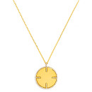 Baublebar Four Points Pendant, gold necklace, golden necklace, gold pendan necklace, golden pendant nekclace