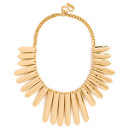 Baublebar Gold Ra Bib, gold necklace, gold statement necklace