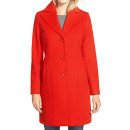 Kristen Blake Coat (Regular & Petite), red coat