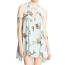 Free People 'Tree-Swing' Top, mint floral print top, blue floral print top, mint floral print sleeveless top, mint floral print sleeveless tunic