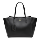 Gucci Swing Medium Bag, black handbag, black tote, black satchel, black winged bag, black bag