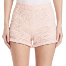 Alexis Evelina Shorts, light pink shorts, light pink lace shorts