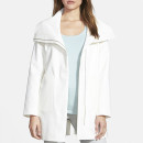 Elie Tahari 'Nara' Coat, white coat, white boxy coat, white oversized coat, white cocoon coat