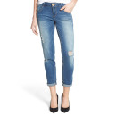 Wit & Wisdom Distressed Girlfriend Jeans, boyfriend jeans, distressed boyfriend jeans, ripped boyfriend jeans, destroyed boyfriend jeans