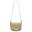 Zac Posen 'Eartha' Saddle Bag, cream bag, nude bag, beige bag, cream shoulder bag, nude shoulder bag, beige shoulder bag, modern shoulder bag, minimal shoulder bag, modern bag, minimal bag