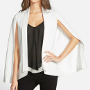 Mural Cape Blazer ($78 USD), white cape blazer, white cape, white blazer