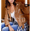 Shein Brown Jacket, brown suede jacket, brown faux suede jacket, brown jacket