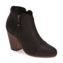 rag & bone 'Margot' Bootie, black block heel ankle boot, black block heel bootie, black suede ankle boot, black suede bootie, black western ankle boot, black western bootie