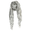 Sole Society Plaid Scarf, plaid scarf, grey plaid scarf