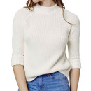 Topshop Mock Neck Sweater, white turtleneck sweater, white mock neck sweater, white ribbed sweater