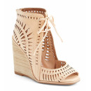 Jeffrey Campbell 'Rodillo Hi' Wedge, nude wedges, beige wedges