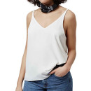 Topshop V-Back Camisole (Regular & Petite), white cami top, white v-neck cami top