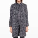 Club Monaco Maritza Coat, grey coat, grey structured coat, grey slim coat, grey fitted coat