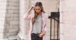 A Blush Trench Coat Is The Perfect Statement Piece