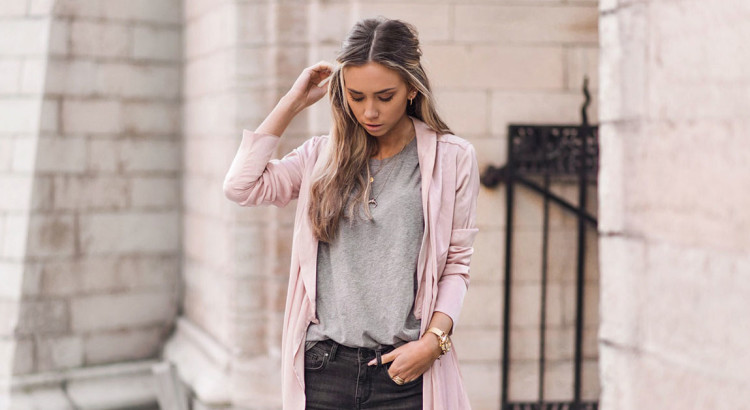 A Blush Trench Coat Is The Perfect Statement Piece, light pink trench coat, blush trench coat, work outfits, casual outfits, comfy outfits, easy outfits, sneakers outfits, spring outfits, fall outfits