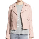 Rebecca Minkoff Pebble Jacket, light pink leather jacket, blush leather jacket, pale pink leather jacket
