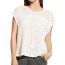 Vince Camuto Open Stitch Knit Top, cream knit top, white knit top, ivory knit top, cream open knit top, ivory open knit top, white open knit top