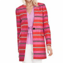 Banana Republic Stripe Coat, colorful stripe coat, colorful stripe jacquard coat, statement coat, pink stripe coat, red stripe coat, pink stripe jacquard coat, red stripe jacquard coat, multi-color stripe coat, multi-color stripe jacquard coat