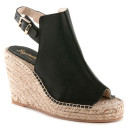 Seychelles Charismatic Wedge, black espadrille wedges, black espadrille platform wedges, black platform wedges, black wedges, black slingback wedges, black slingback espadrille wedges, black slingback espadrille platform wedges
