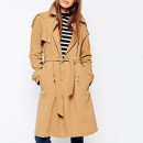 ASOS Trench Coat, camel trench coat, light brown trench coat, camel belted trench coat, light brown trench coat