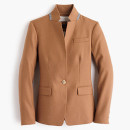 J Crew Regent Blazer, camel blazer, brown blazer, camel jacket, brown jacket