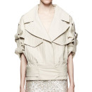 Jason Wu Cropped Trench Jacket, cape trench coat, crop trench coat, short trench coat