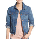 Madewell Jean Jacket - denim jacket, medium wash denim jacket, blue denim jacket, medium blue denim jacket