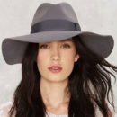 Brixton Piper Hat - grey fedora, grey wide brim fedora, grey hat, grey wide brim hat