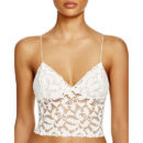 Free People Lacey Camisole - white lace cami, white lace camisole, white lace crop cami, white lace crop camisole, white lace bralette, white lace bustier