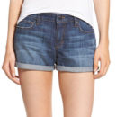Joe's Rolled Hem Denim Shorts - denim shorts, rolled hem denim shorts, cuff denim shorts, cuffed denim shorts