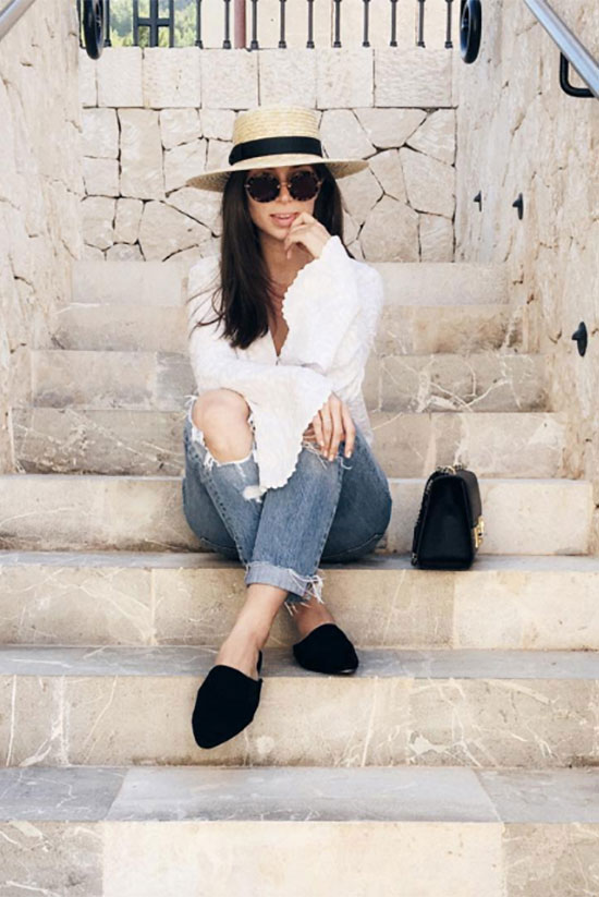 Shoe trend alert 10 ways to style flat mules be daze live for Bikinis and passports