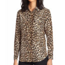 Equipment Slim Signature Shirt - leopard print shirt, leopard print blouse, animal print shirt, animal print blouse