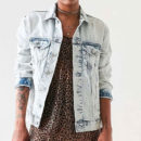 BDG Girlfriend Denim Jacket - light denim jacket, light wash denim jacket