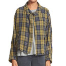 The Great Plaid Jacket - green plaid jacket, green check jacket