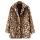 Rosegal Leopard Loose Coat - leopard coat, leopard print coat, faux fur coat, leopard faux fur coat, leopard fur coat