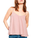 TOPSHOP Rouleau Swing Camisole - blush camisole, blush cami top, pink cami top, pale pink cami top