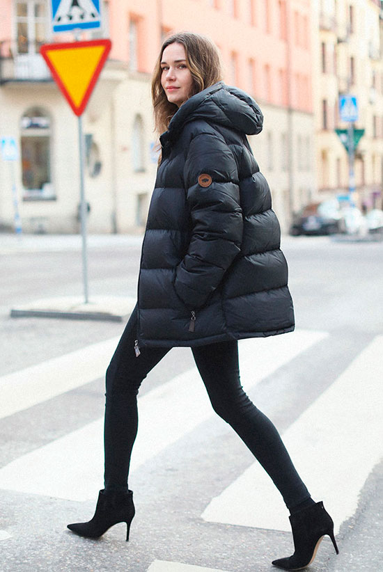 831e9b131ccc 15+ Cozy   Chic Ways To Try The Puffer Jacket Trend